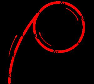 Pollard's rho cycle visualization